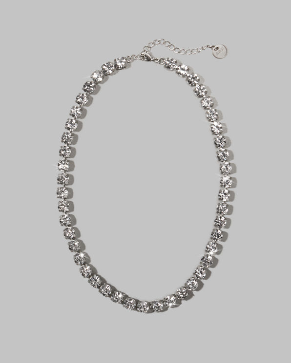 Womens Jeweled Necklace