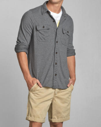 ANF North Notch Shirt