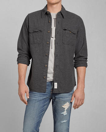 ANF Phelps Trail Flannel Shirt