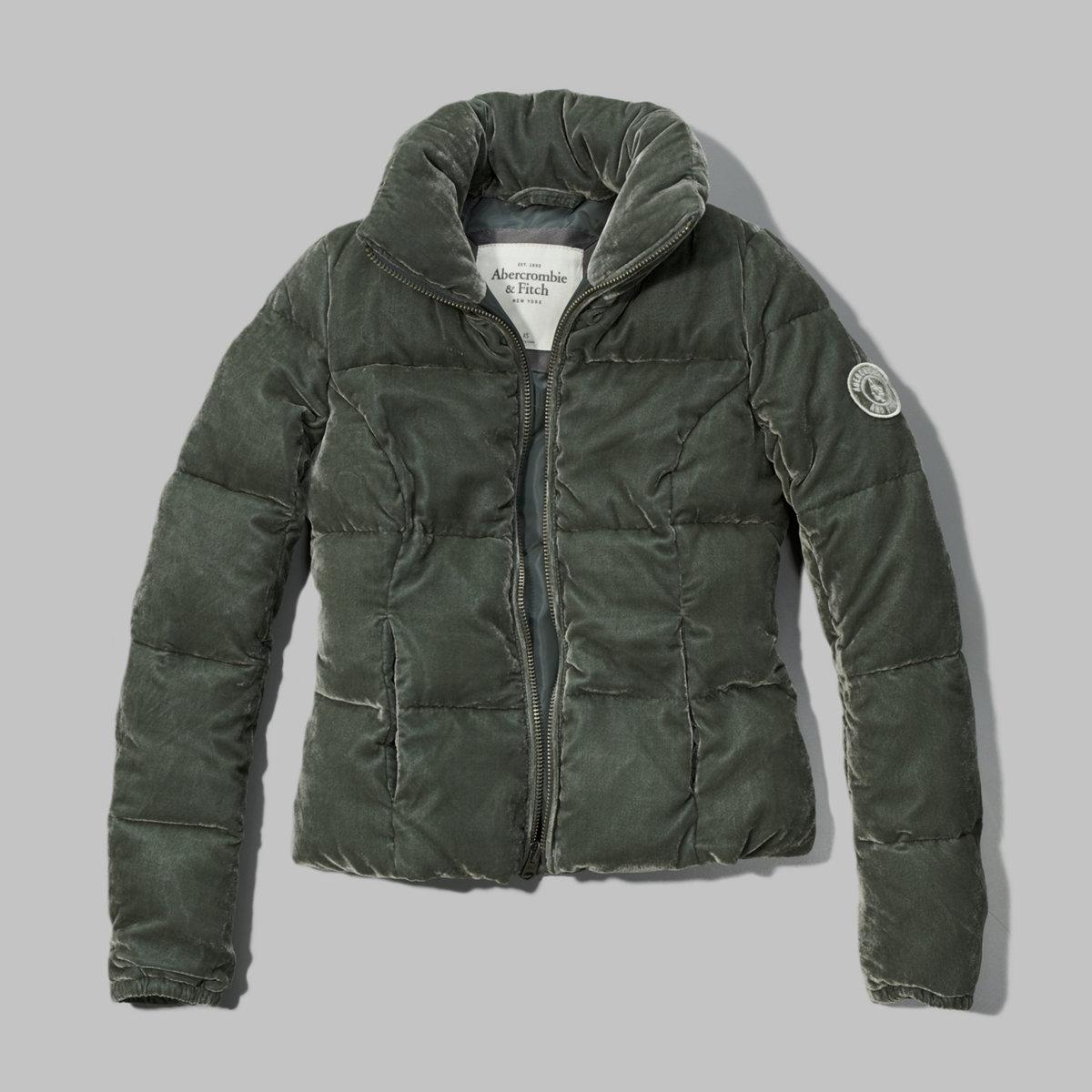 Tori Velvet Puffer Jacket