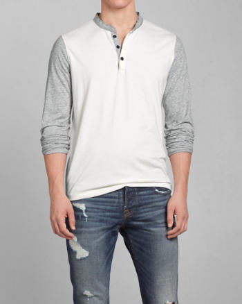 Mens Slant Rock Henley