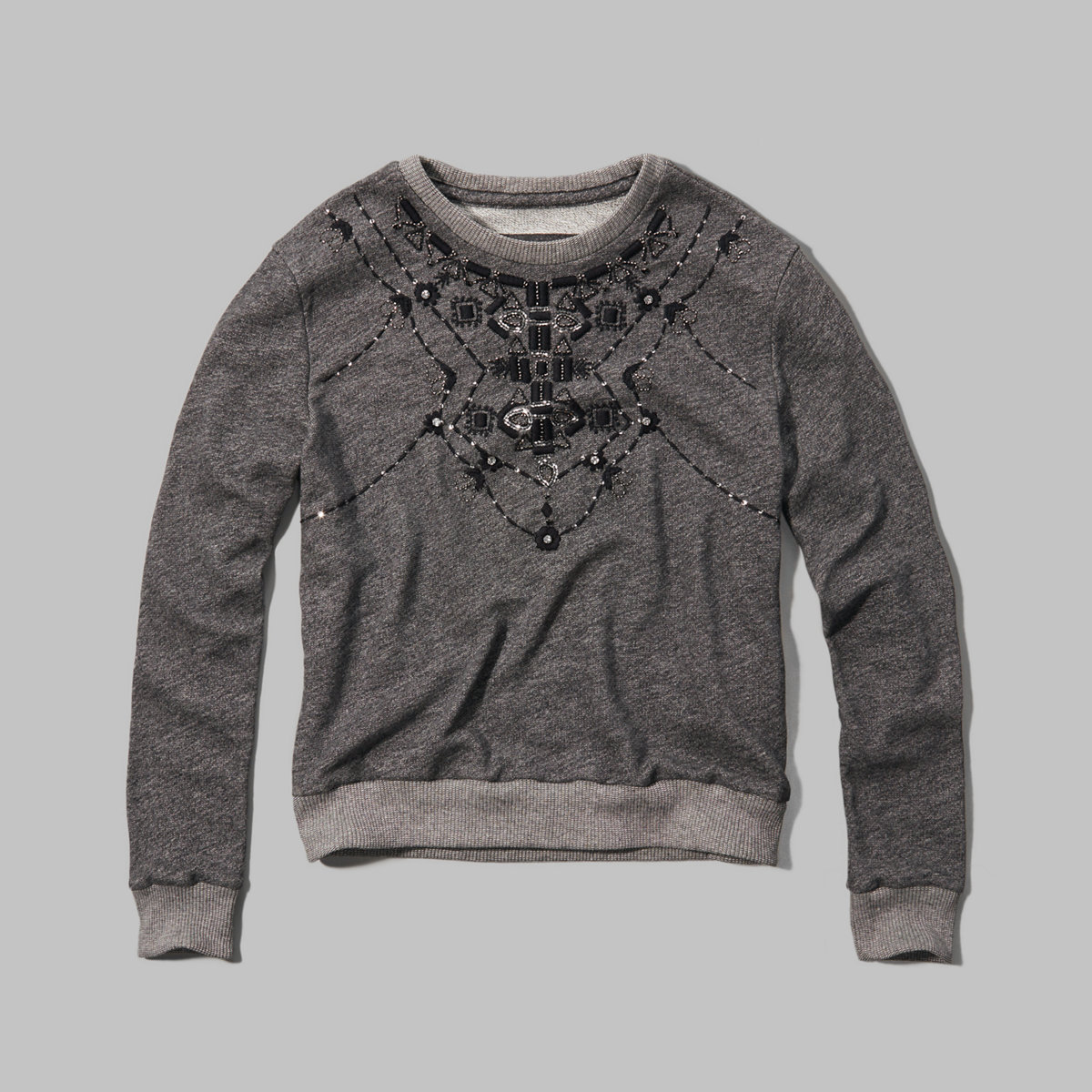 Meredith Embellished Sweatshirt