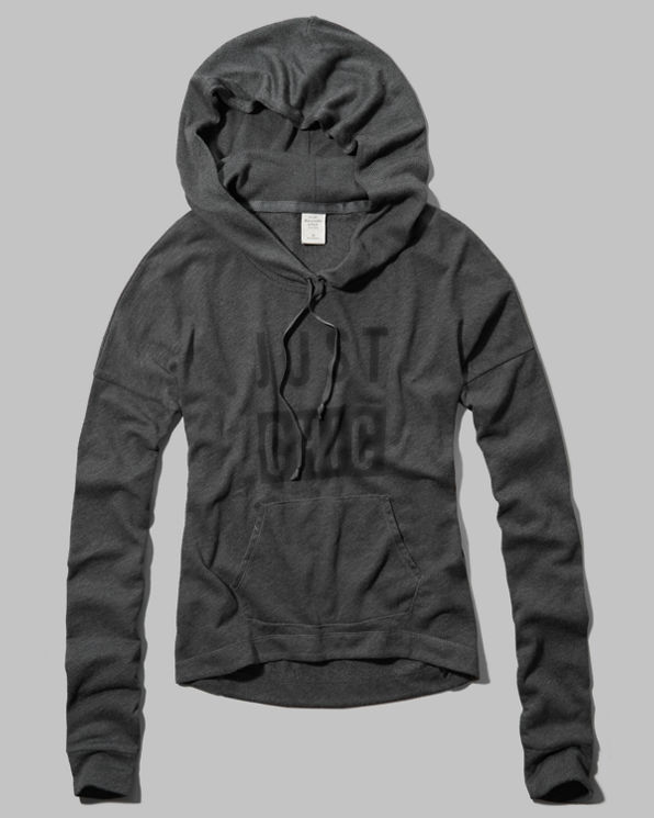 Womens Carissa Snit Hoodie