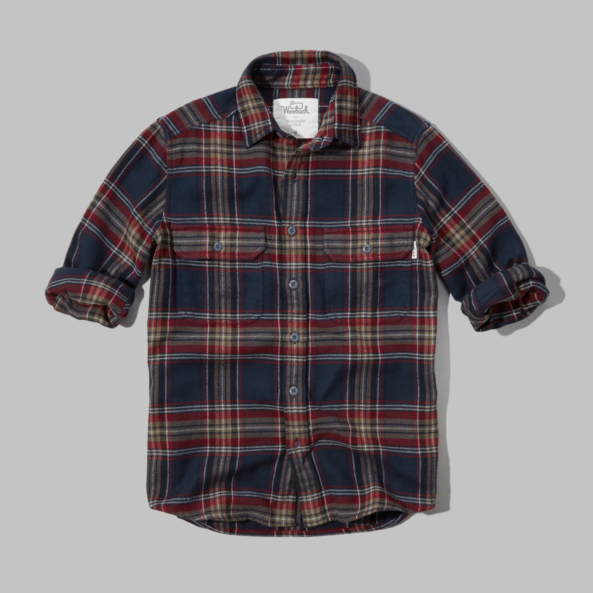 Woolrich with A&F Signature Flannel Shirt