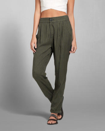 Womens Natasha Striped Pant