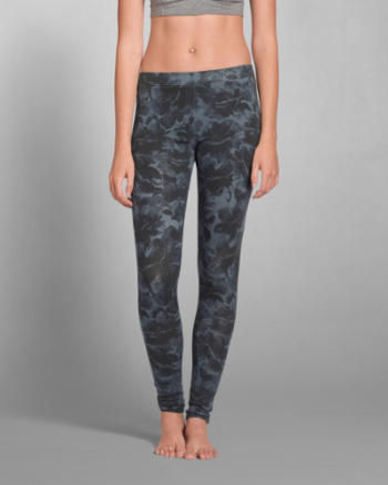 Womens A&F Patterned Legging