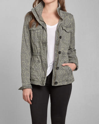 Womens Melina Twill Shirt Jacket