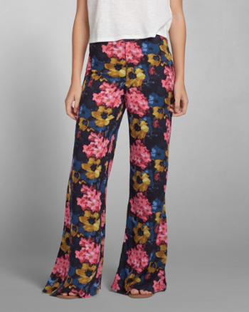 Womens Erin Wide Leg Pant