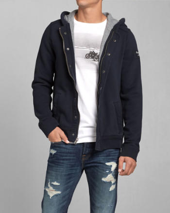 Mens Newcomb Lake Hooded Jacket