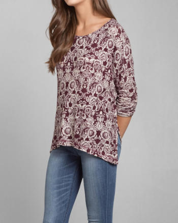 Womens Gwen Easy Snit Top