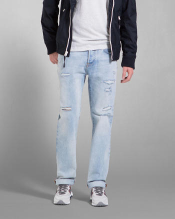 ANF A&F Classic Straight Jeans