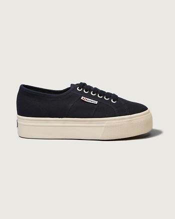ANF Superga Platform Sneaker