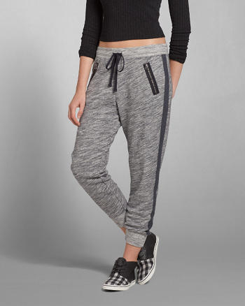 ANF Eve Textured Joggers