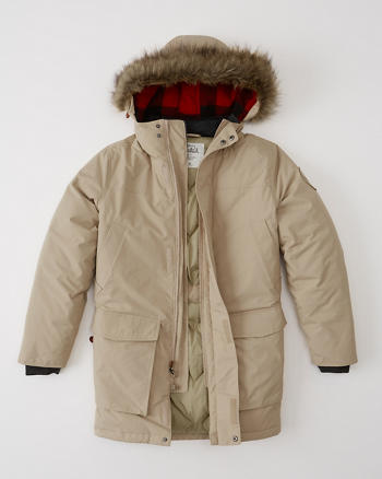 ANF Woolrich Down Parka