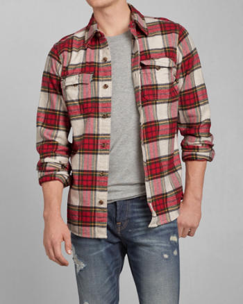 ANF Allen Brook Flannel Shirt