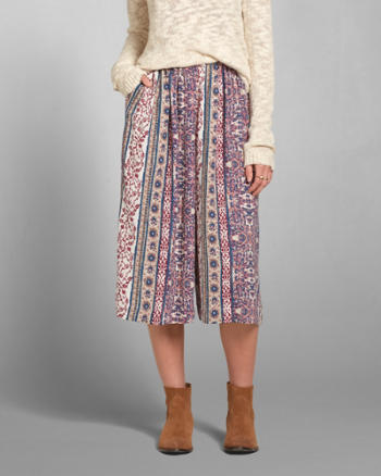 Womens Audrey Gaucho Pants