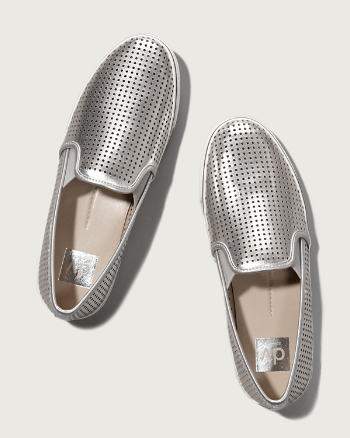 Womens Dolce Vita Perforated Slip-On