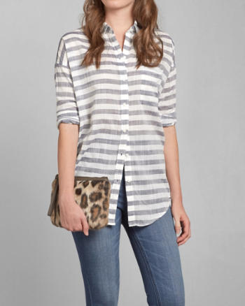 Womens Kira Boyfriend Shirt