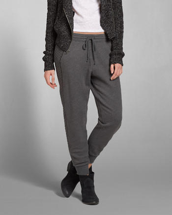 ANF A&F Quilted Jogger Sweatpants