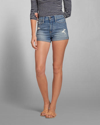 ANF A&F High Rise Short