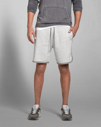 ANF A&F Athletic Preppy Fit Shorts