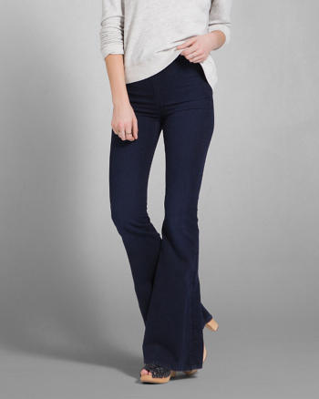 ANF Natural Waist Flare Jeans