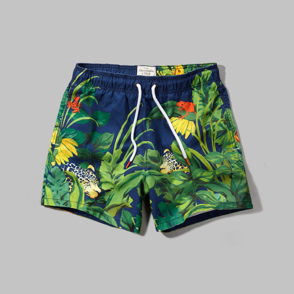 A&F Campus Fit Swim Shorts