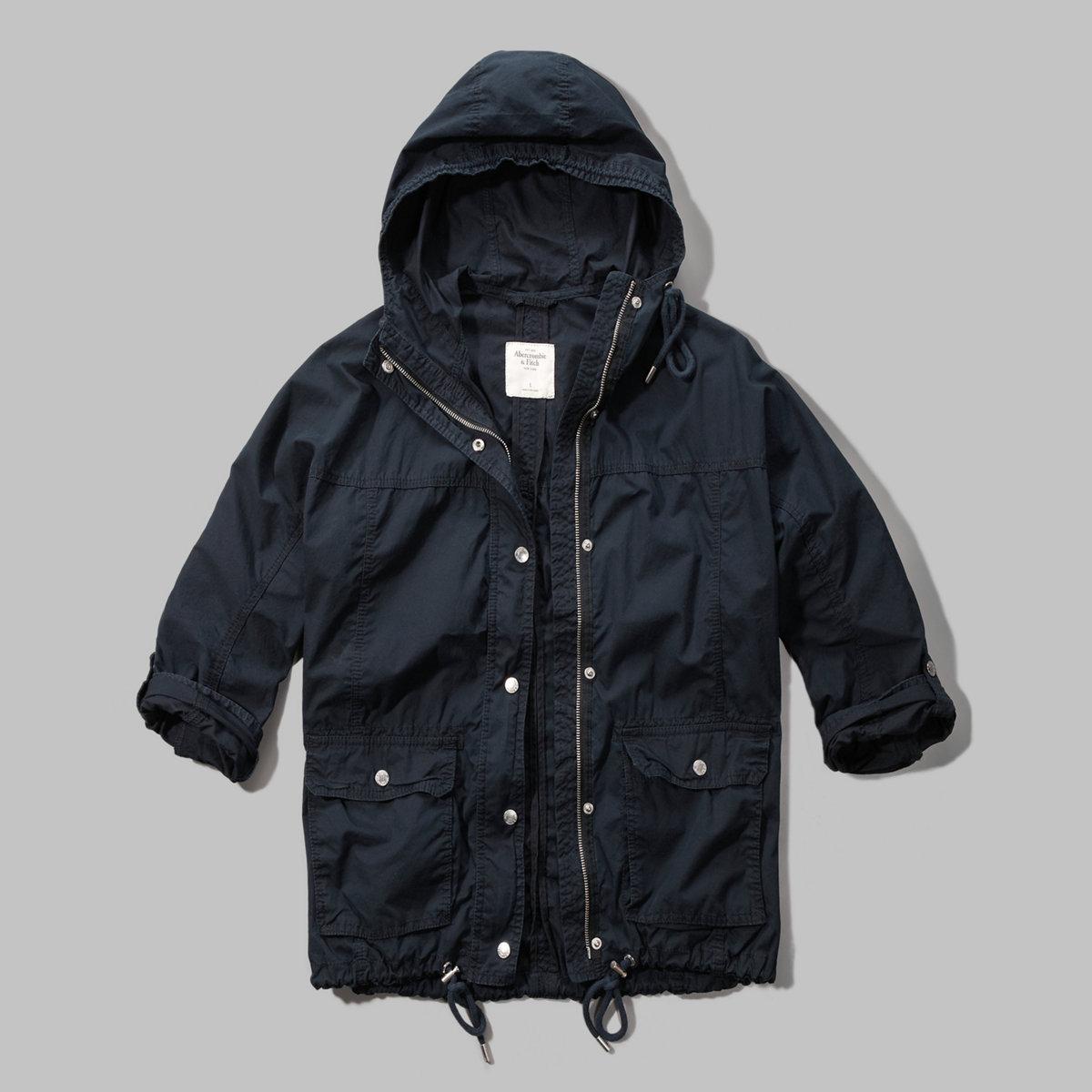 Twill Anorak Jacket
