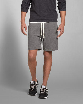 ANF A&F Terry Preppy Fit Shorts