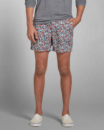 ANF A&F Campus Fit Shorts
