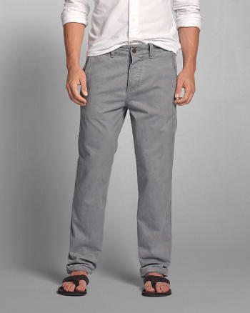 ANF A&F Classic Straight Chinos