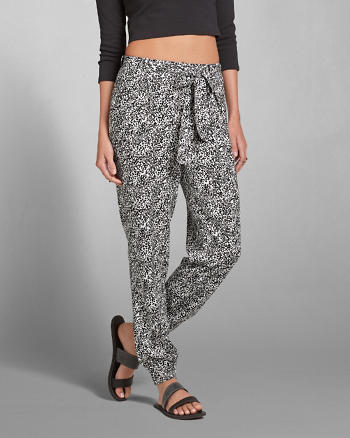 ANF Pattern Tie Joggers