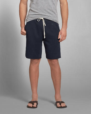 ANF A&F Fleece Classic Fit Shorts