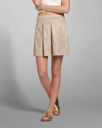 ANF Supersoft Pleated Skirt