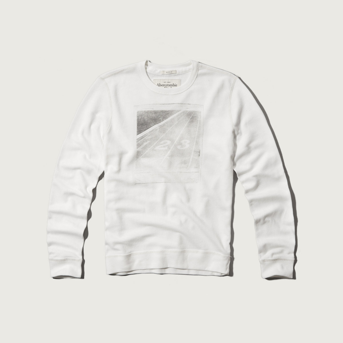 Track Polaroid Photoreal Graphic Sweatshirt