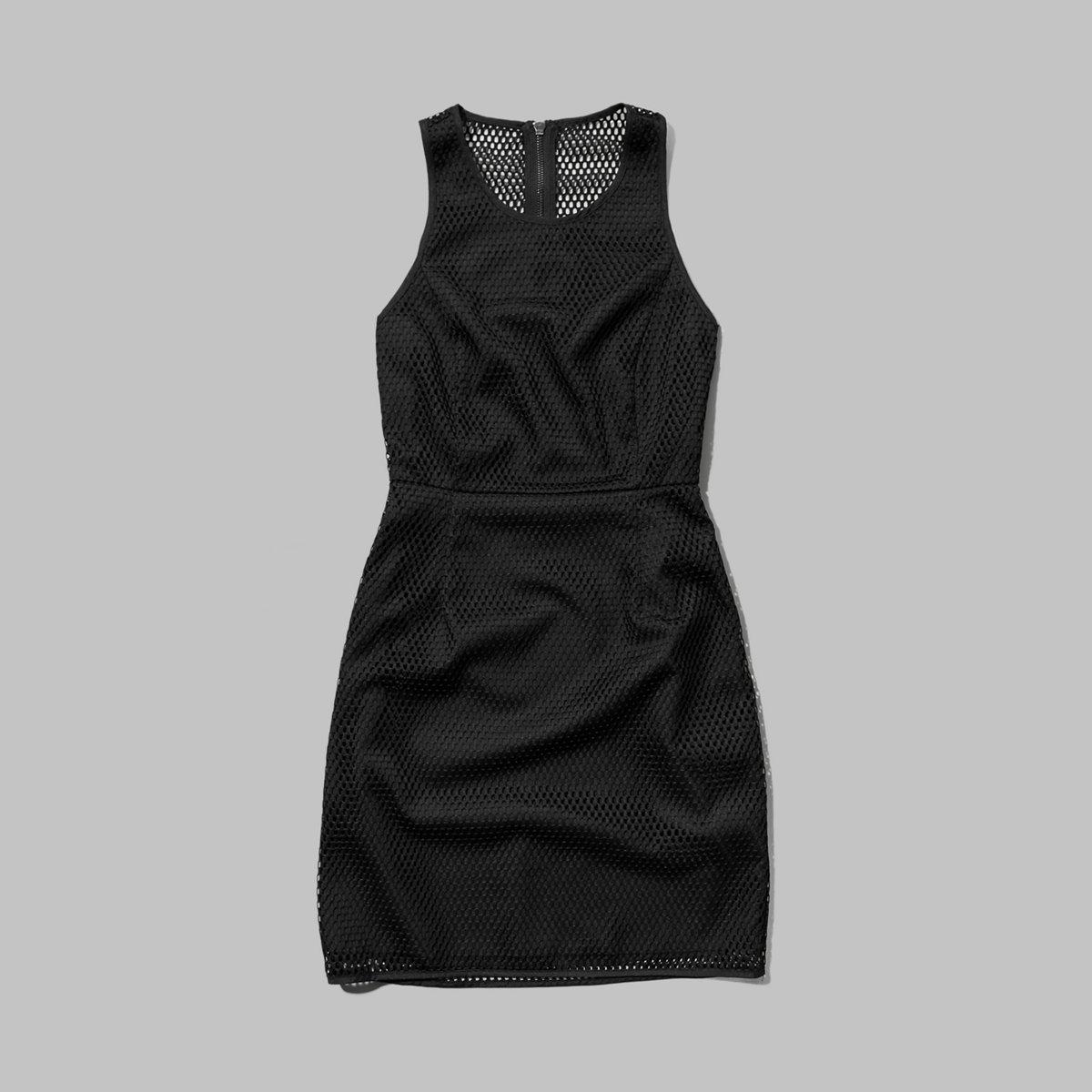 Mesh Pattern Dress