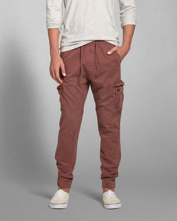 ANF A&F Cargo Jogger Chinos