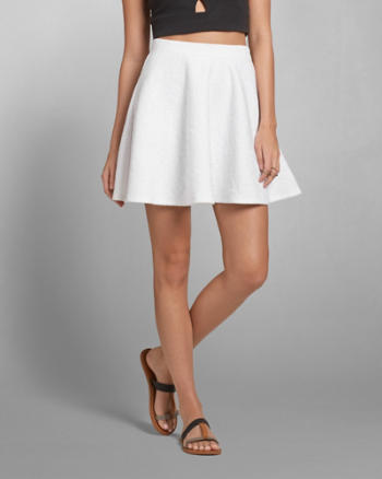 Womens Lace Skater Skirt