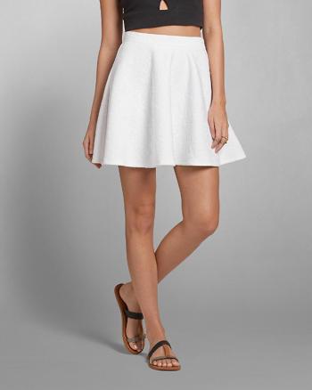 ANF Lace Skater Skirt
