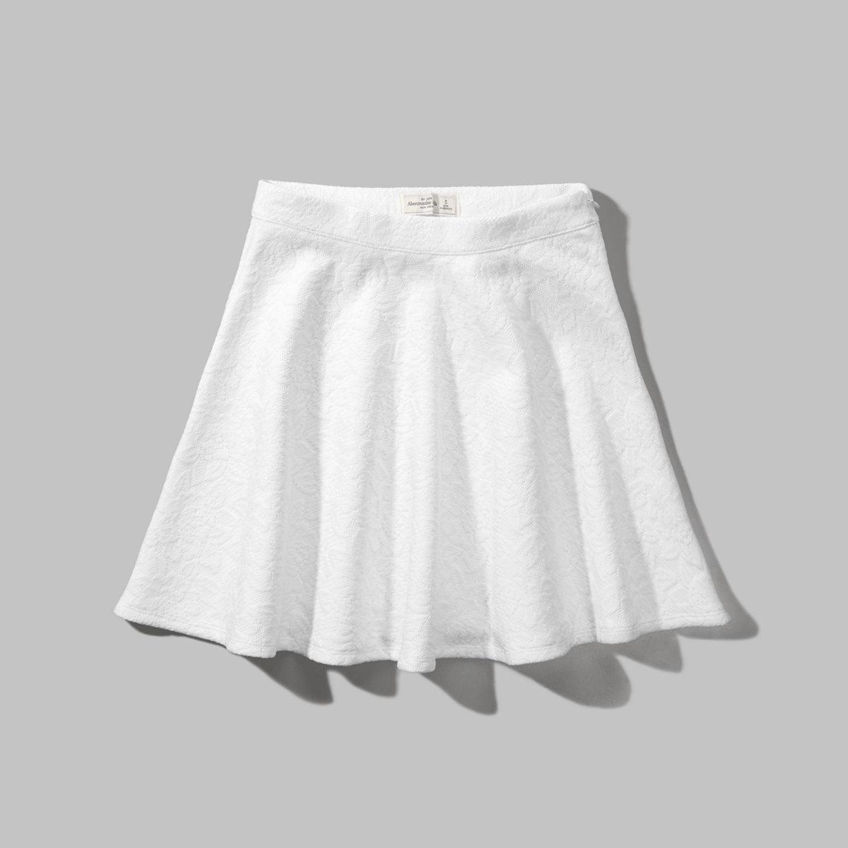 Lace Skater Skirt