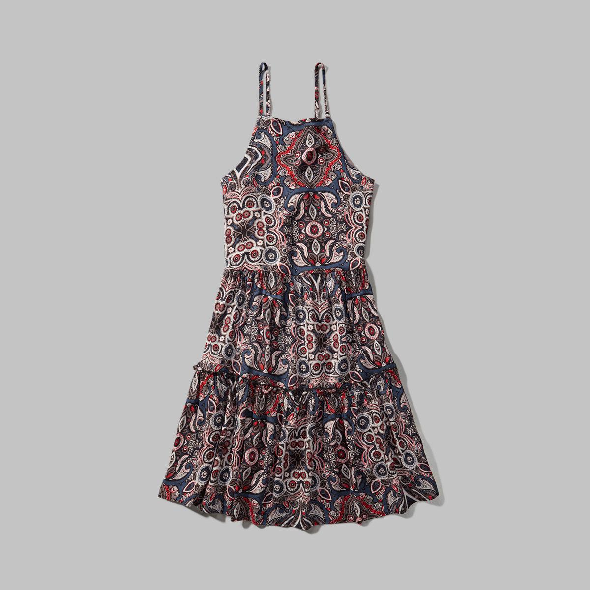 Tie-Back Swing Dress