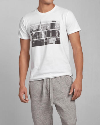 Mens Photoreal NYC Graphic Tee