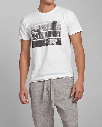 ANF Photoreal NYC Graphic Tee