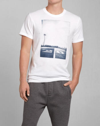 Mens Track Photoreal Graphic Tee