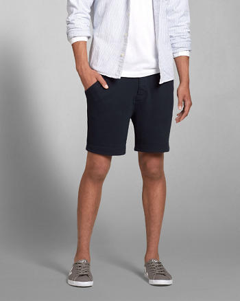 ANF A&F Fleece Five-Pocket Shorts