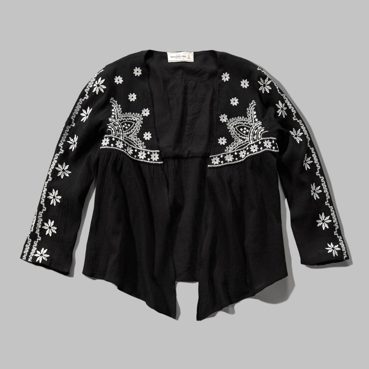 Embroidered Soft Jacket