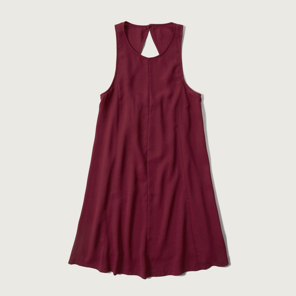 Crepe Shift Dress