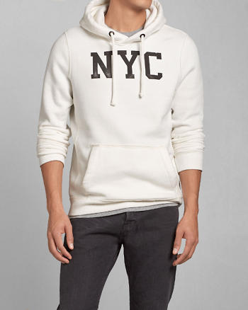 ANF NYC Graphic Hoodie