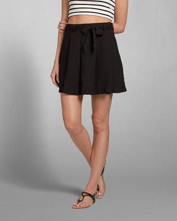 ANF Pleated Skater Skirt
