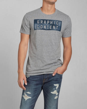 Mens Graphic Content Graphic Tee